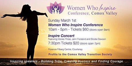 Comox Valley Women Who Inspire Conference tickets
