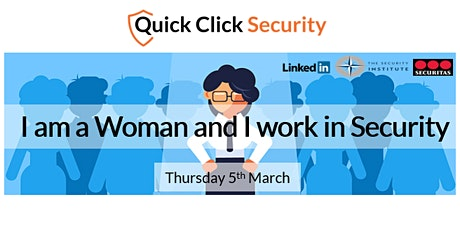 I am a  Woman and I work in Security tickets