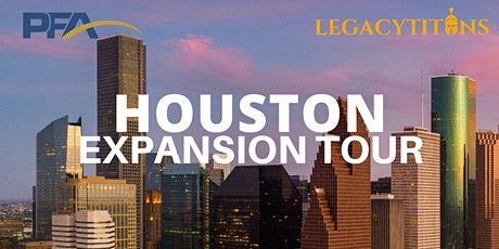 Houston Expansion By LegacyTitans tickets