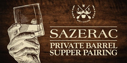 Sazerac Private Barrel Exclusive 4-Course Supper Pairing