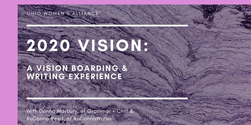2020 Vision Boarding and Writing Experience