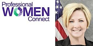 Professional Women Connect FBI SAC Kristi K. Johnson,...