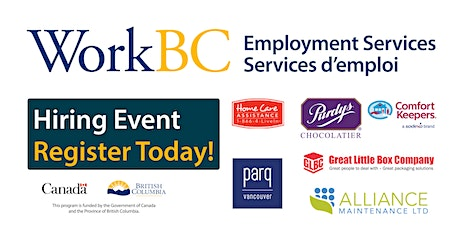 Hiring Fair Saturday Feb 22nd - Vancouver North East Job Fair tickets