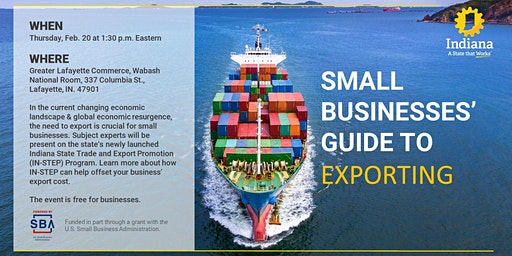 Small Business Guide to Exporting - Lafayette
