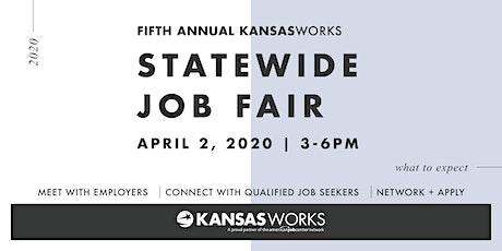 KANSASWORKS Statewide Job Fair: Overland Park tickets