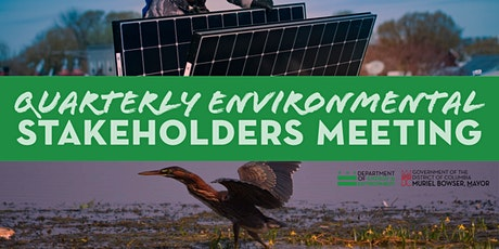 Quarterly Environmental Stakeholders Meeting tickets