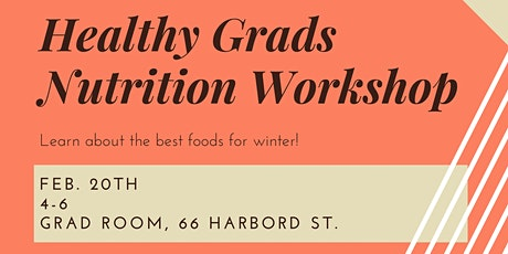 Healthy Graduate Nutrition Workshop tickets