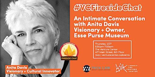 #VCFiresideChat | Presenting Anita Davis