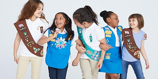 Girl Scouts at Falk Elementary