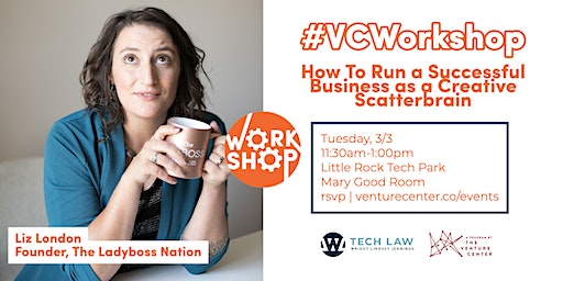 #VCWorkshop |  Run a Successful Business as a Creative Scatterbrain