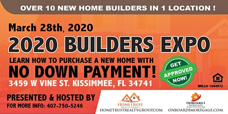 Builders Expo 2020 - Presented by Onboard1 Mortgage and Hometrust Realty Group entradas