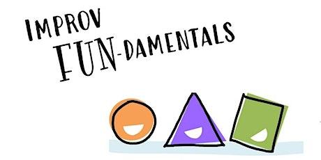 Improv FUN-damentals Workshop Series tickets