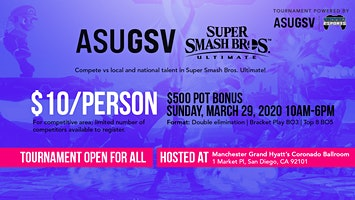 ASU GSV Smash Ultimate Tournament