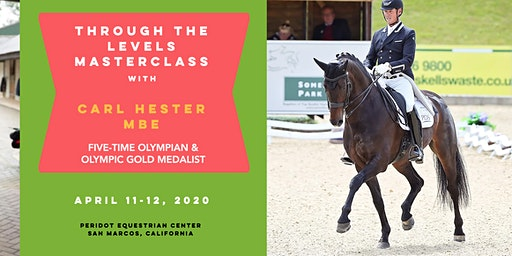 Through the Levels Masterclass with Carl Hester MBE