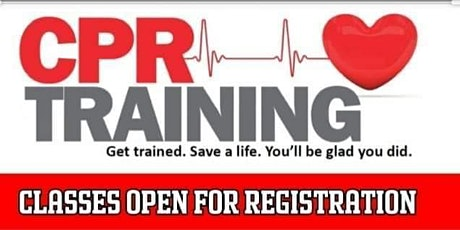 CPR and First aid Training Morning And Afternoon Sessions tickets