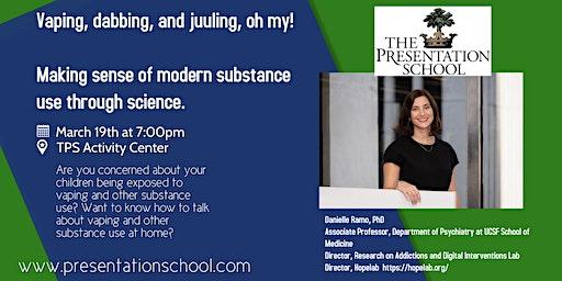 TPS Speaker Series-Dr. Danielle Ramo, March 19th