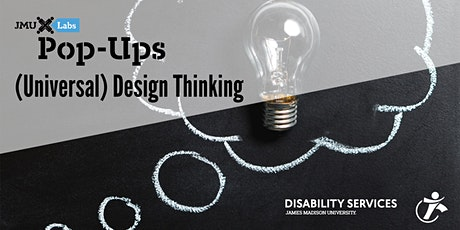 Pop-Up Workshop: (Universal) Design Thinking with ODS tickets