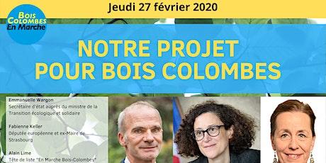 Soirée - Notre projet pour Bois-Colombes billets