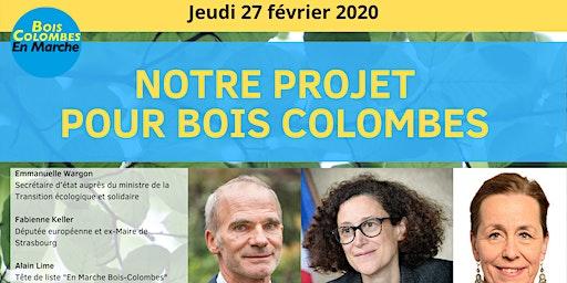 Soirée - Notre projet pour Bois-Colombes