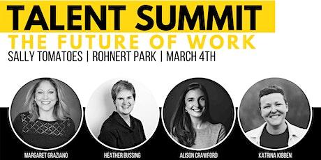 Talent Summit: The Future of Work tickets