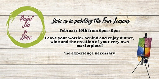 Paint, Sip & Dine @ Nick's Pizza & Pub