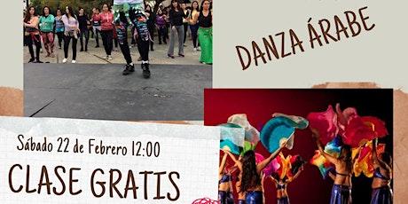Clase Gratuita de Danza Árabe Valparaíso entradas