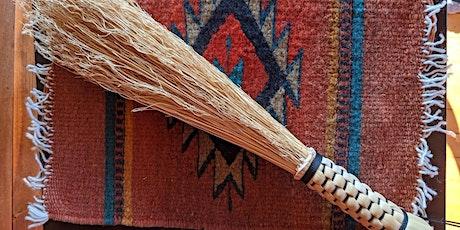 Plaited Altar Duster Corn Broom Workshop tickets