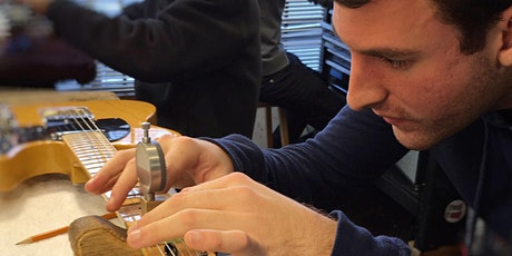 Learn to Setup and Maintain your Guitar with SF Guitarworks, 2-nights tickets