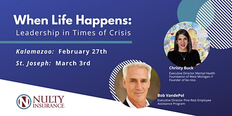 When Life Happens: Leadership in Times of Crisis tickets