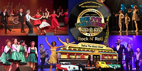 Relive the Music 50s & 60s Rock n Roll SHOW tickets