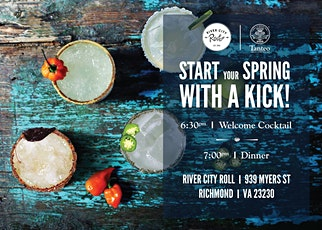 Tanteo Tequila Dinner at River City Roll tickets