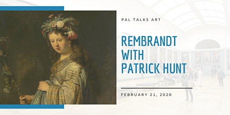 PAL Talks Art: Rembrandt with Patrick Hunt tickets