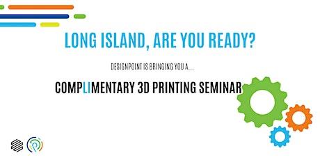 Markforged x DesignPoint - Complimentary 3D Printing Seminar (LI) tickets