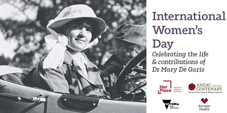 International Women's Day: Celebrating the life of Dr Mary De Garis tickets