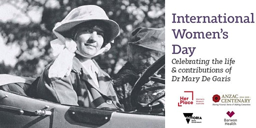 International Women's Day: Celebrating the life of Dr Mary De Garis
