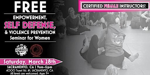 Violence Prevention & Self Defense Seminar - Sacramento
