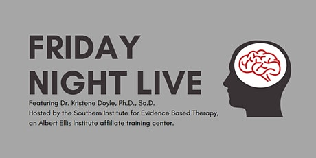 Friday Night Live: A Therapy Demonstration with Dr. Kristene Doyle tickets