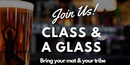 Yoga Class & A Glass.