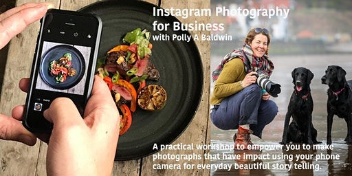 Instagram Photography for Business with Polly A Baldwin