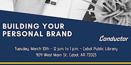 Building your personal brand entradas