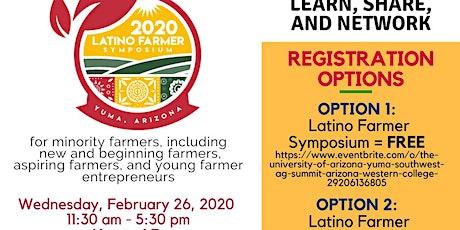 2020 Latino Farmer Symposium tickets