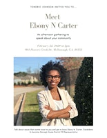 An Afternoon with Ebony N Carter
