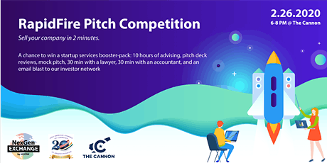 RapidFire Pitch Competition by NexGen Exchange - February 26, 2020 tickets