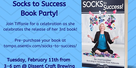 Socks to Success book Launch Party tickets