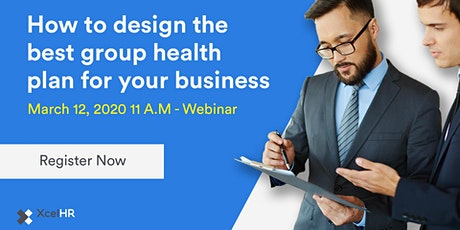 Design the best group health plan for your business tickets