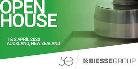 Biesse Auckland Open House tickets