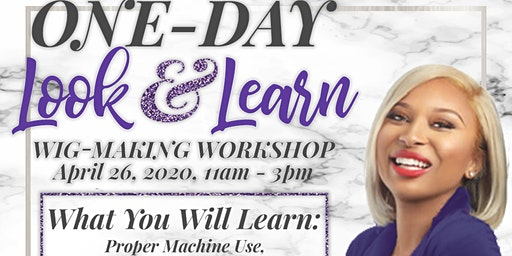 Wig Making Workshop (Look and Learn)