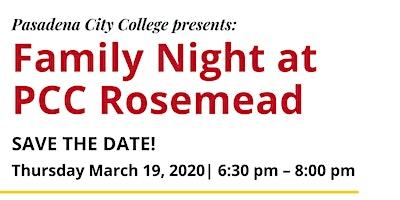 Family Night at PCC Rosemead