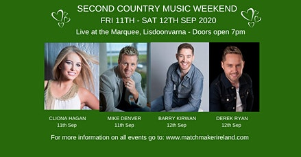 Lisdoonvarna Country Music Weekend tickets