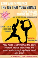 Yoga with Chandani-The Joy that Yoga Brings!